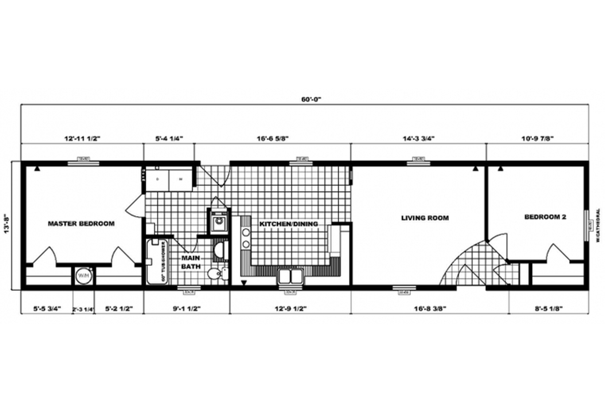 Single-Section Homes - G-603