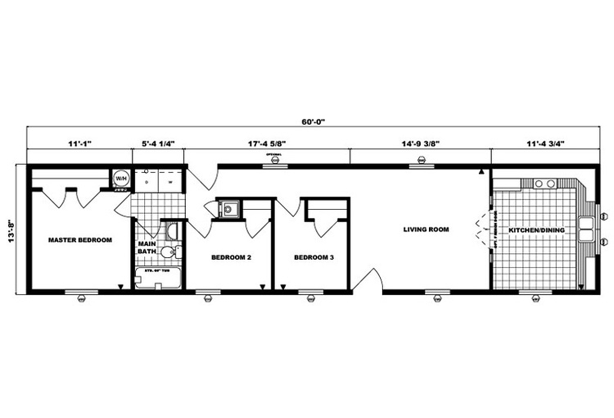 Single-Section Homes - G-487