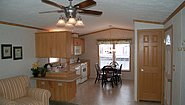 Single-Section Homes G-489 Kitchen