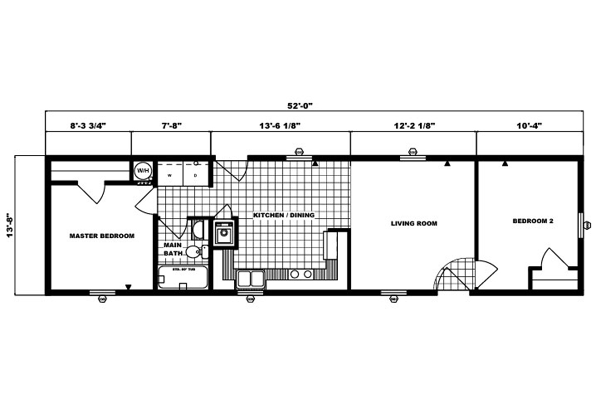 Single-Section Homes - G-557