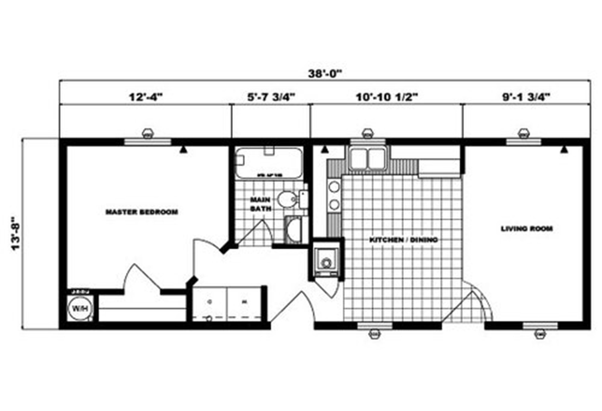 Single-Section Homes - G-555