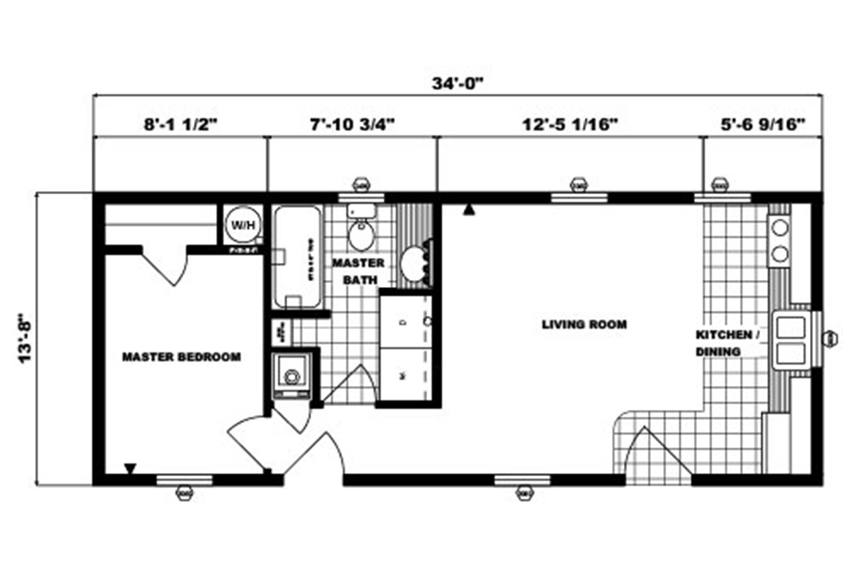 Single-Section Homes - G-547