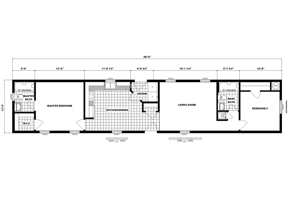 Single-Section Homes - NETR G-626