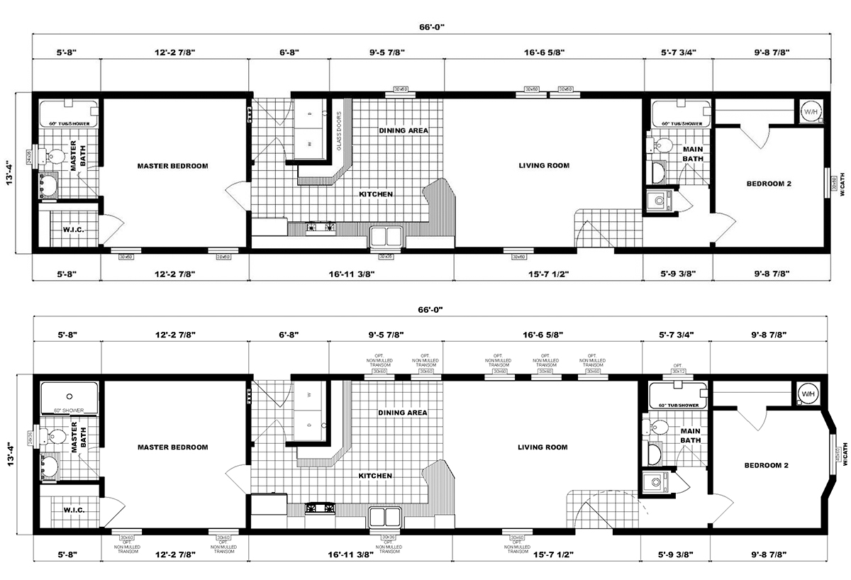 Single-Section Homes - NETR G-618
