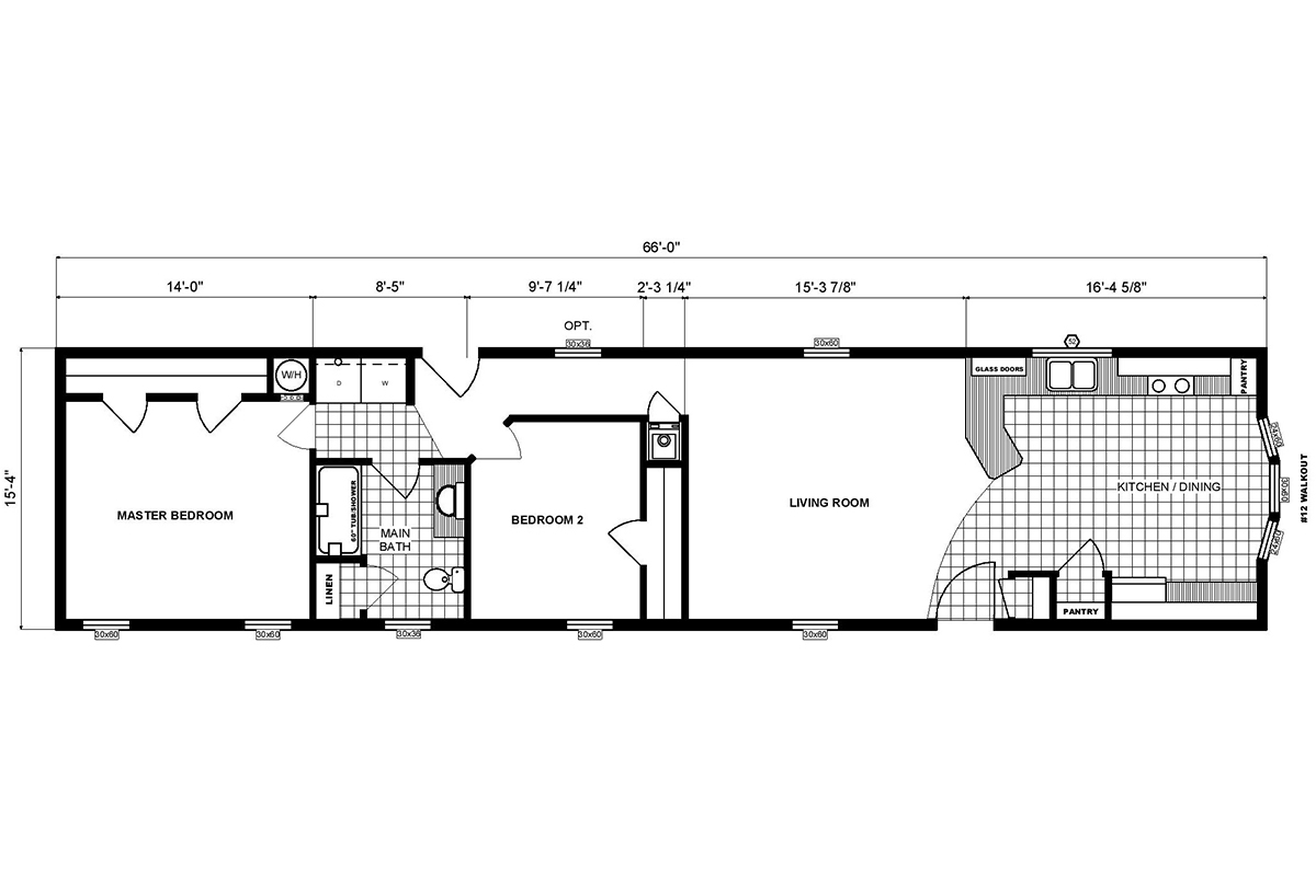 Single-Section Homes - G-16-616