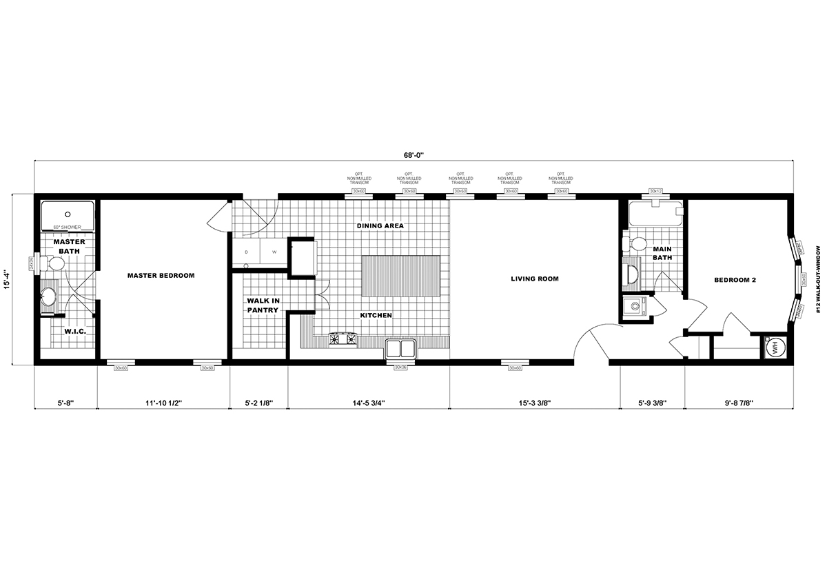 Single-Section Homes - G-16-631