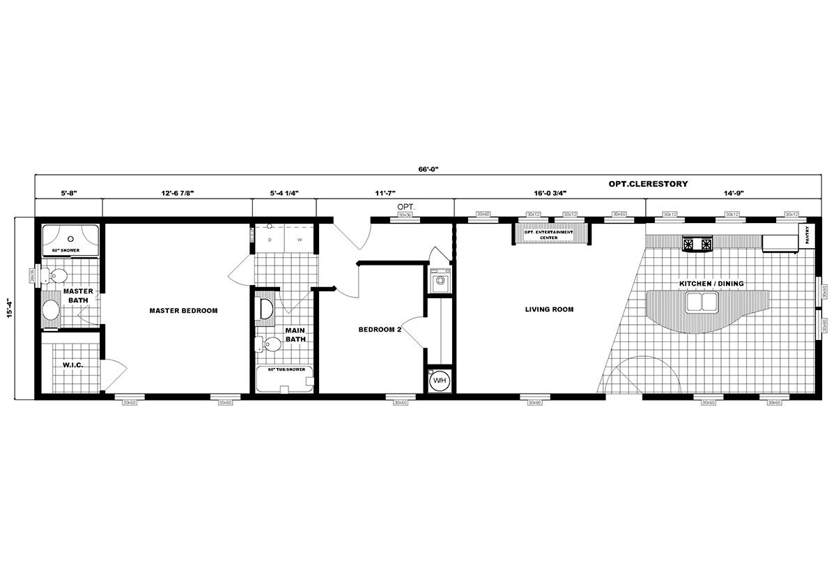 Single-Section Homes - G-16-630