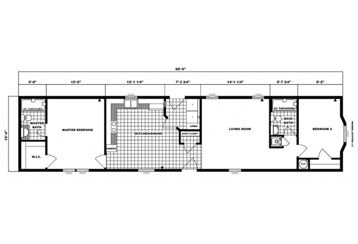 Single-Section Homes - G-16-606