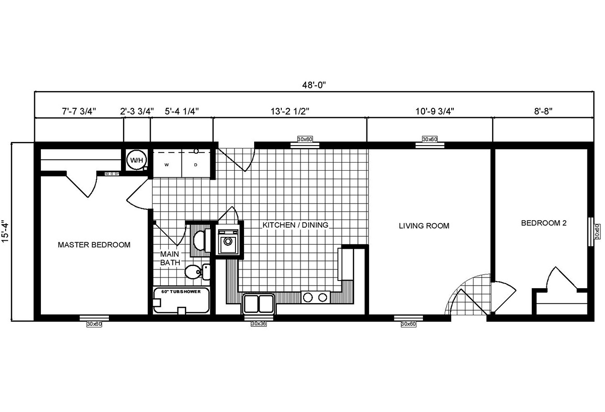 Single-Section Homes - G-16-556