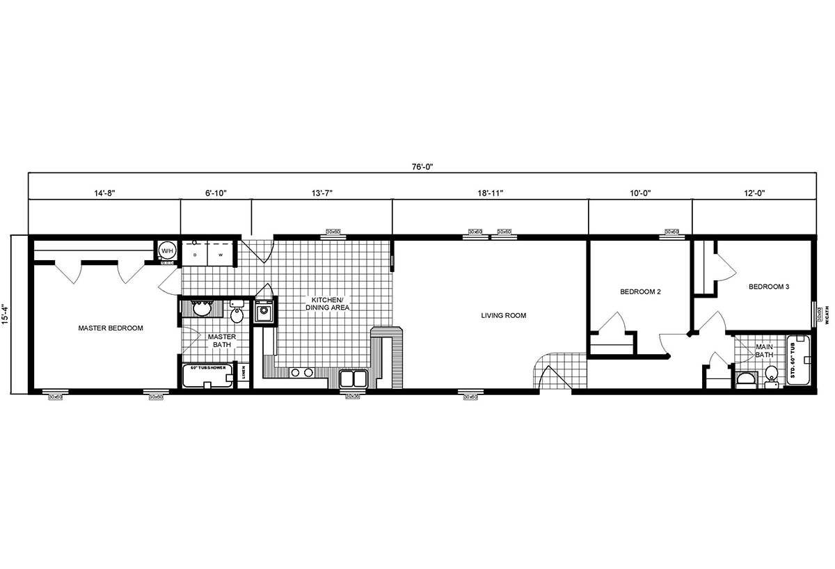 Single-Section Homes - G-16-566