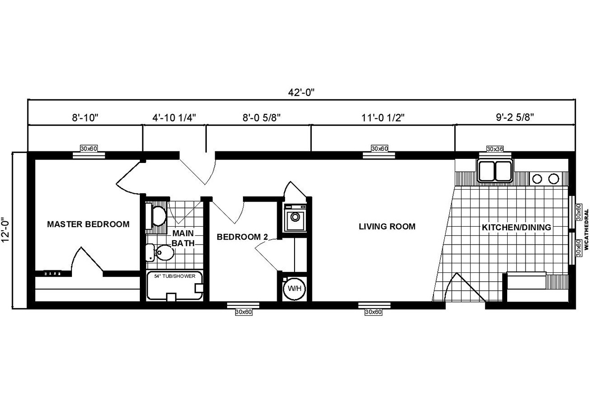 Single-Section Homes - G-306