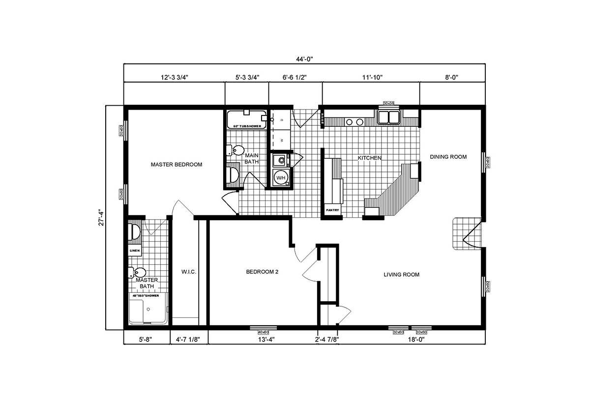 Community Homes G-3204 Layout
