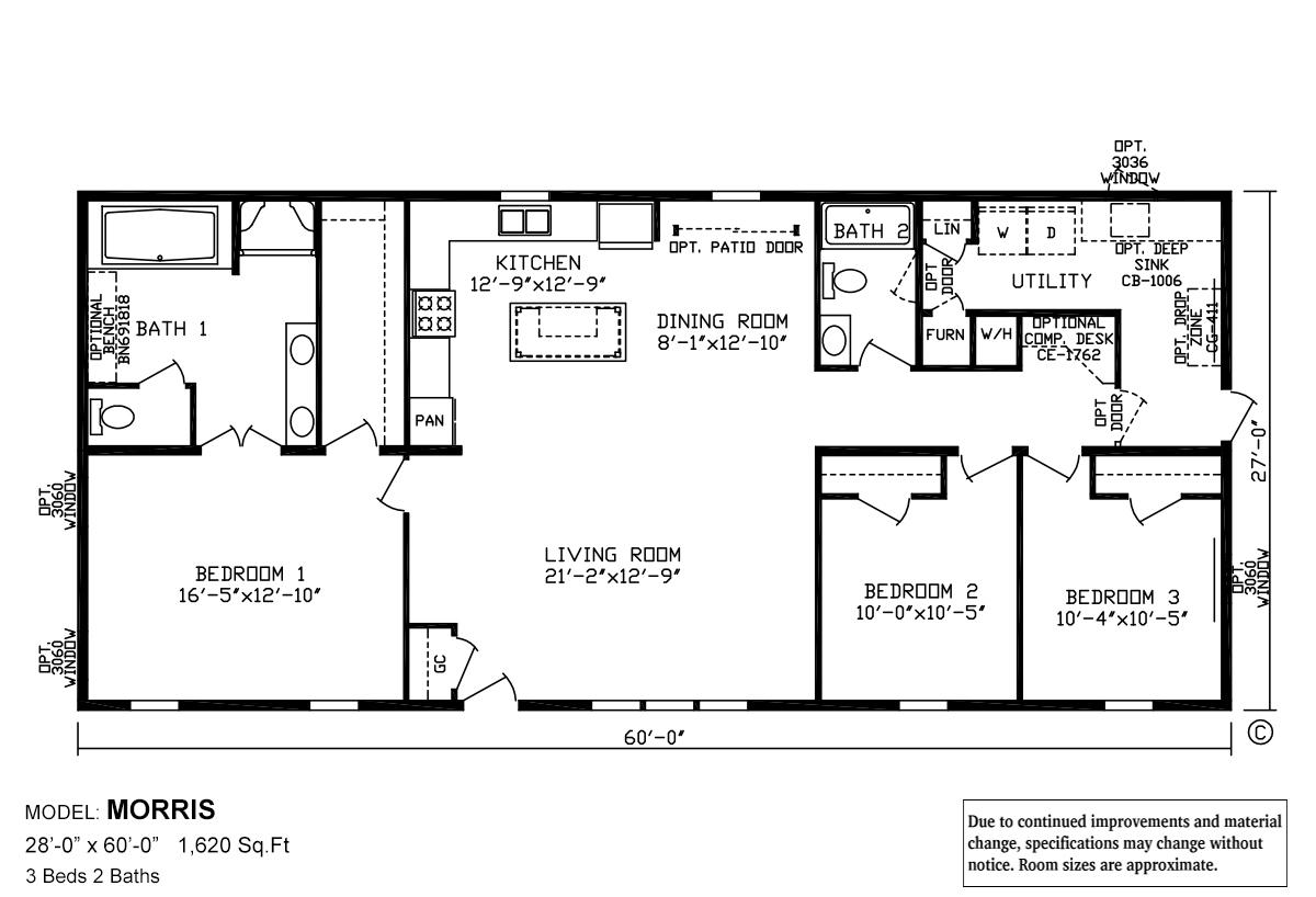 Manufactured and Modular Homes in Michigan – Jordan Built Homes Floor Plans