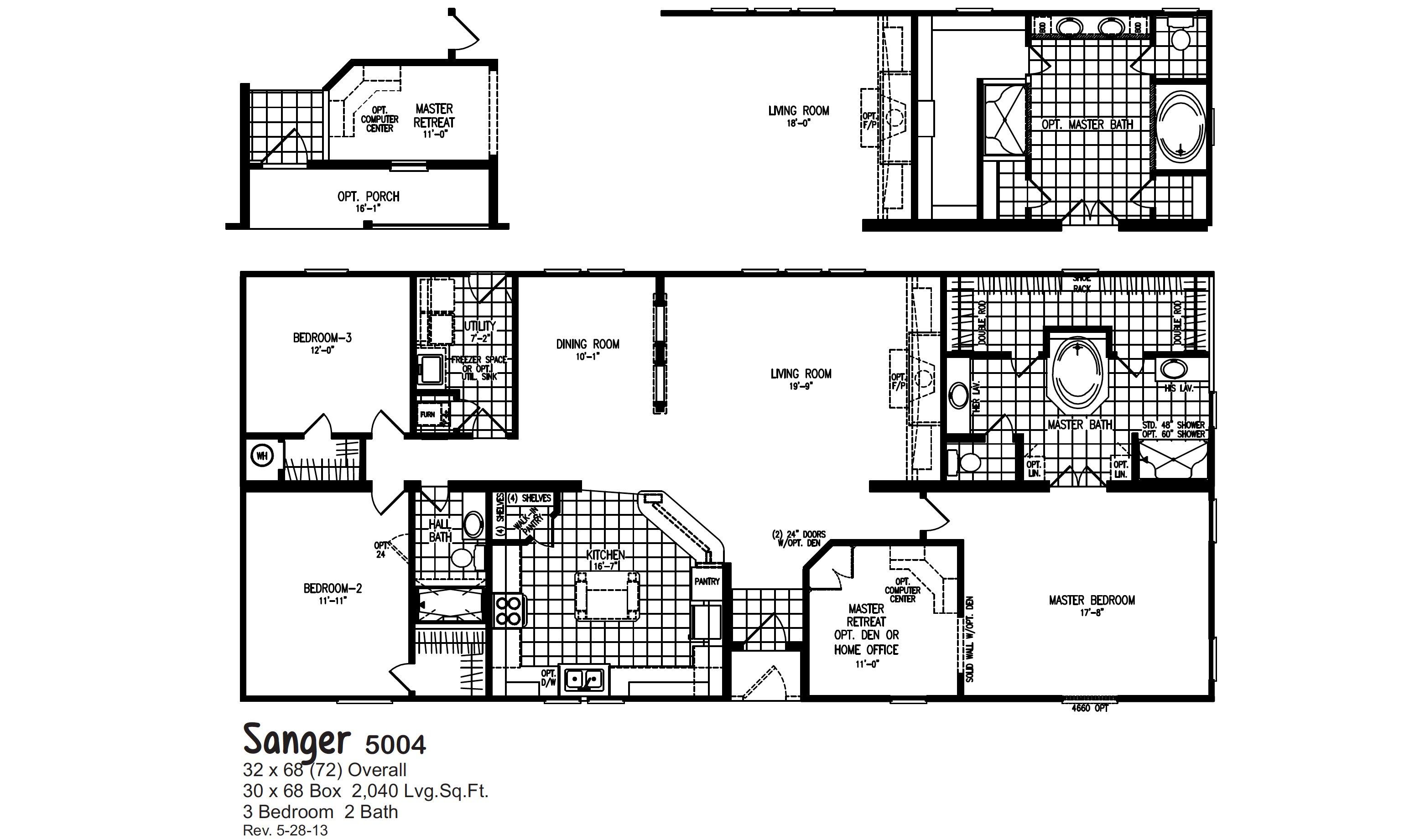 Sanger / 5004 By Oak Creek Homes