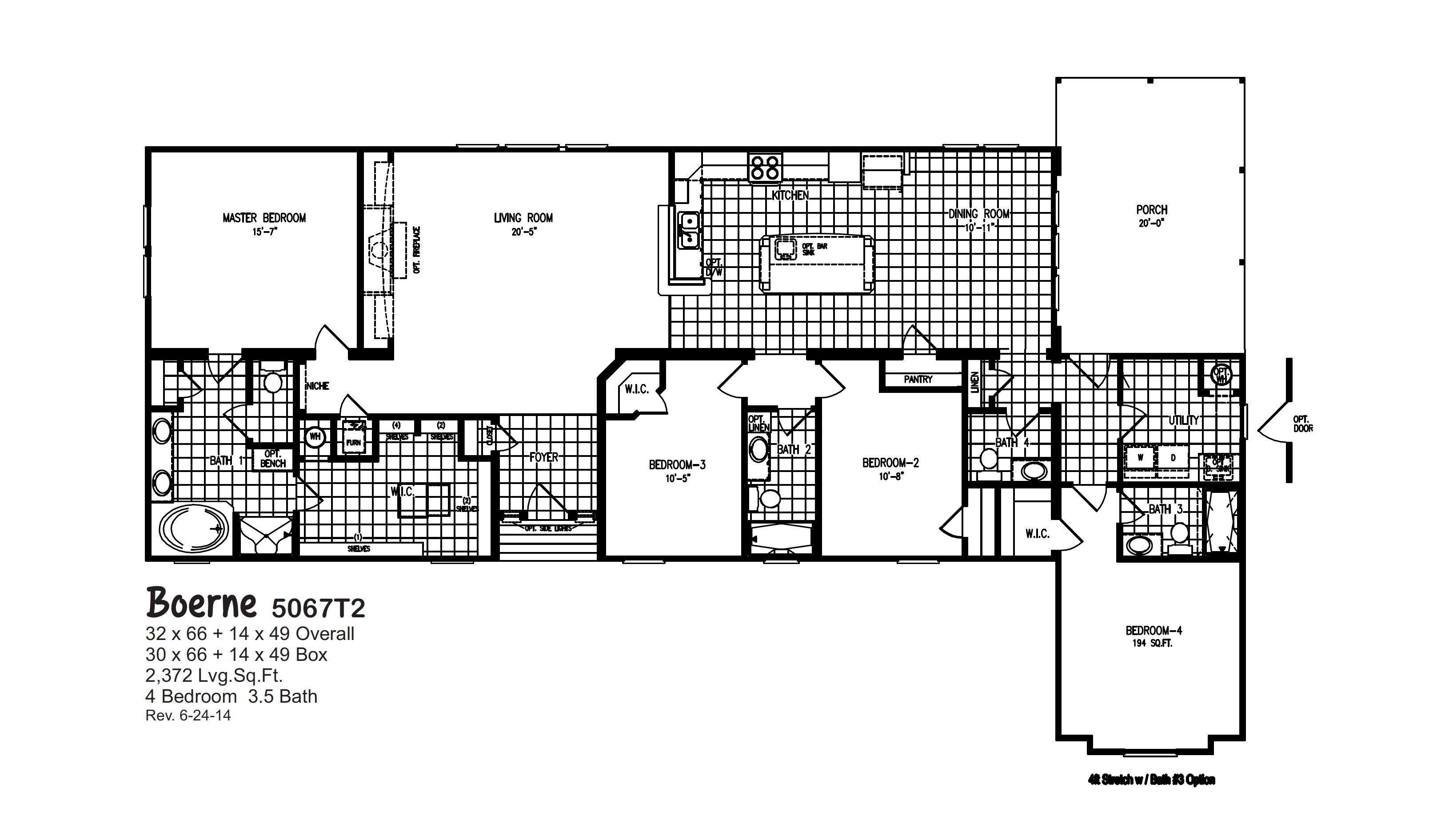 Boerne 5067 T2 By Oak Creek Homes