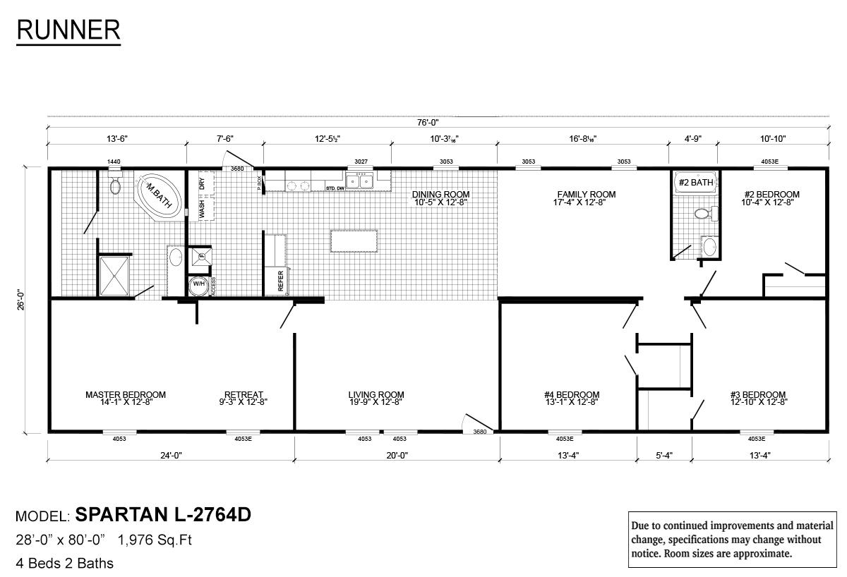 Yess Home Center of Vidalia Mobile Home X Runner on