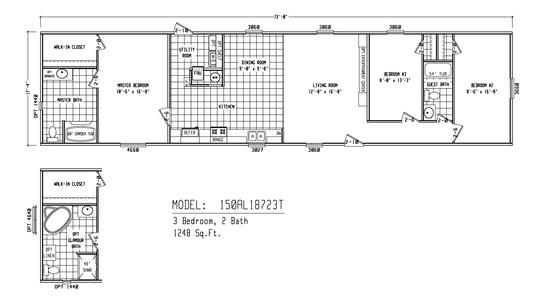 Alamo Lite Single-Section AL-18723T