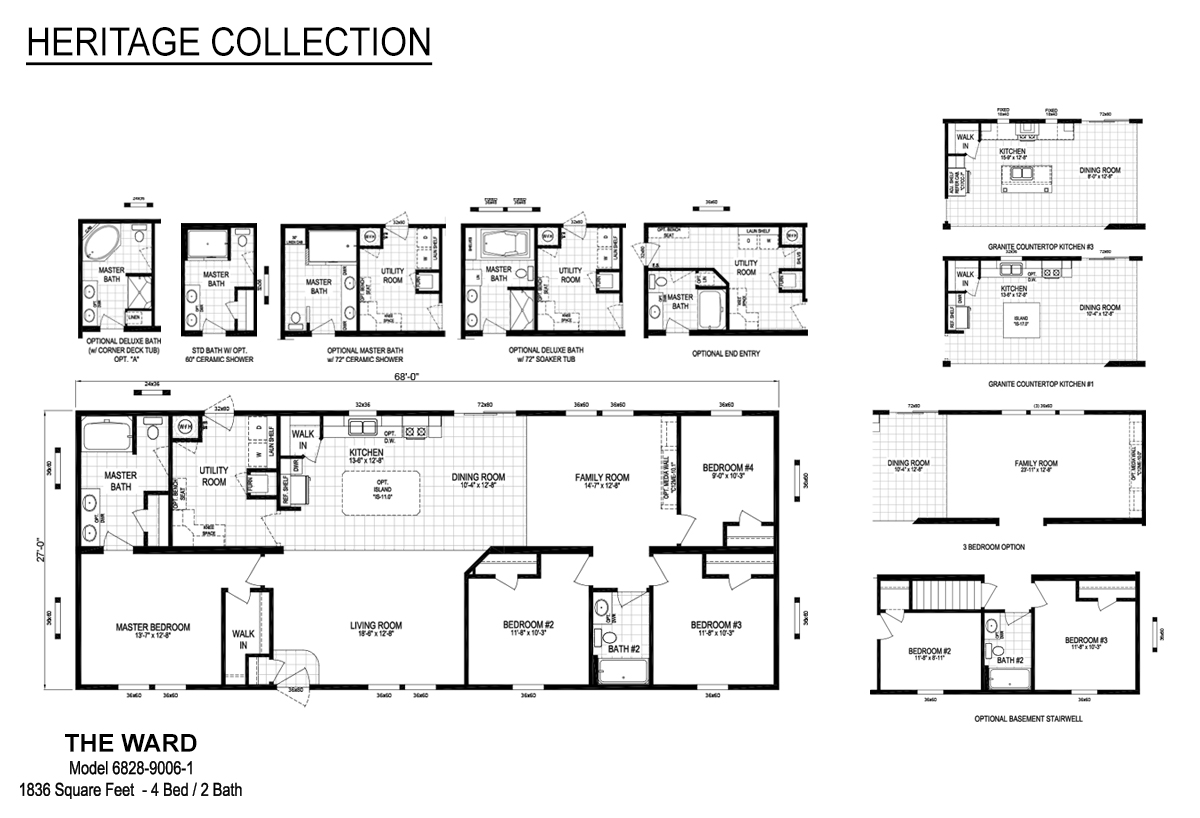 Heritage Collection The Ward Layout