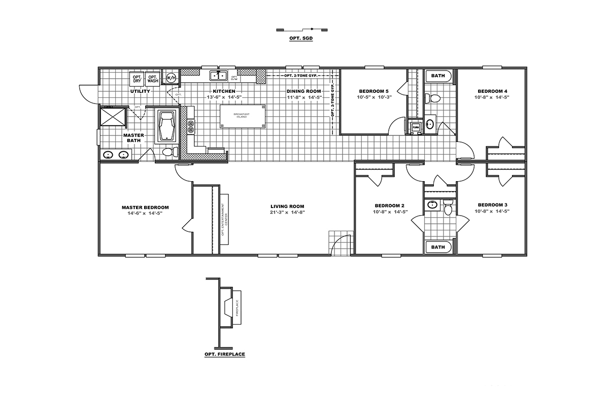 3268B-floor-plans Pacific Manufactured Homes Floor Plans on pierce homes floor plans, southern homes floor plans, wilshire homes floor plans,