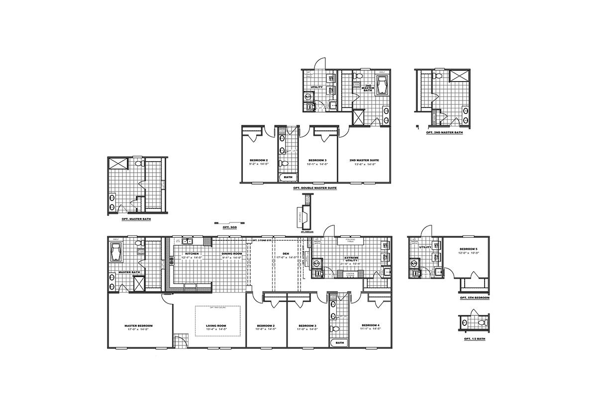 Home Design Floor Plans: Premier / Blackjack 32' By Clayton Homes Appalachia