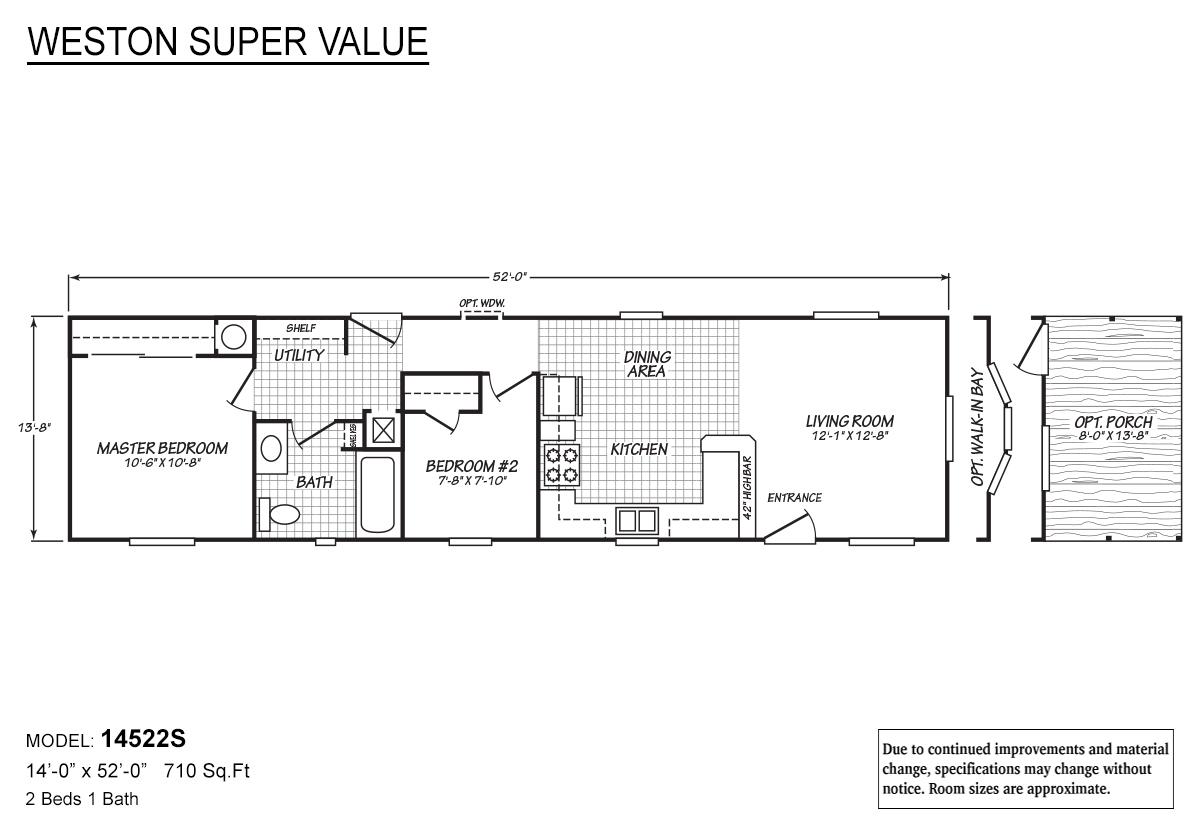 Weston Super Value - 14522S