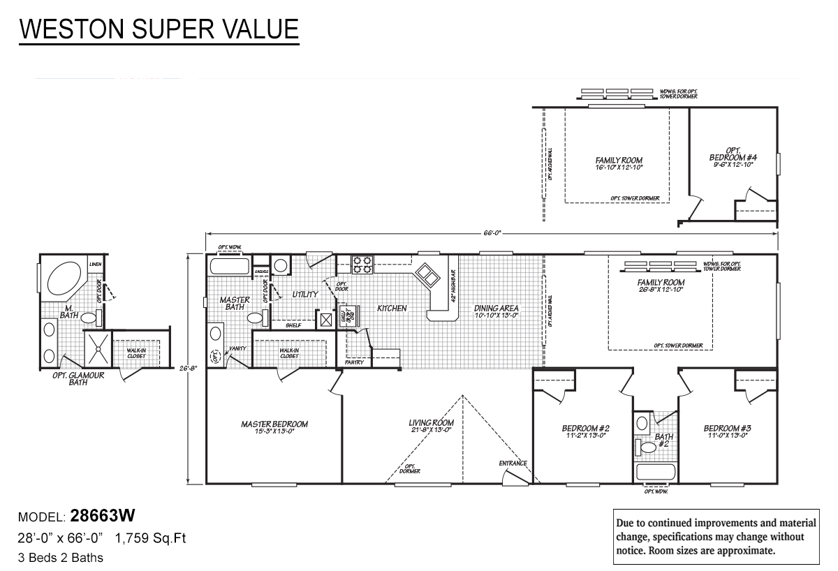 28663W-floor-plans Marlette Home Plans on golden west homes, used mobile homes, fuqua homes, harbor springs homes, taylor homes,