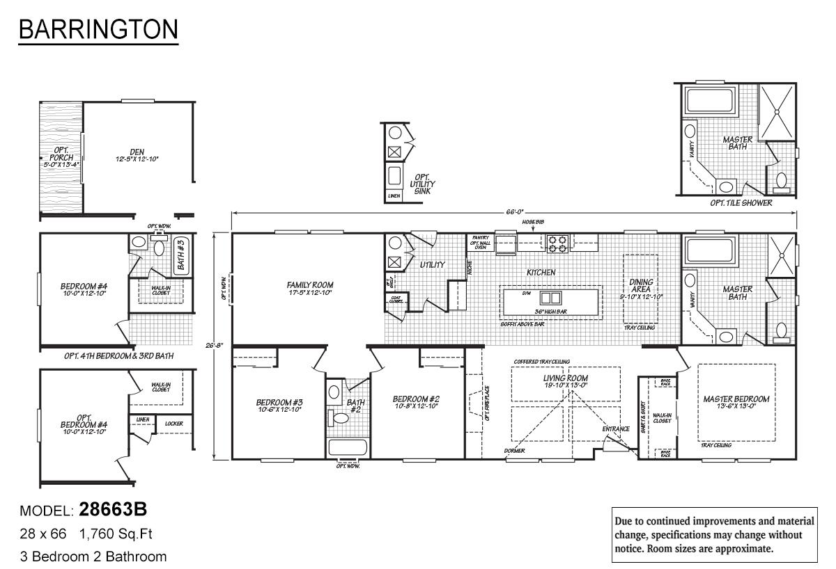 Barrington 28663B Layout