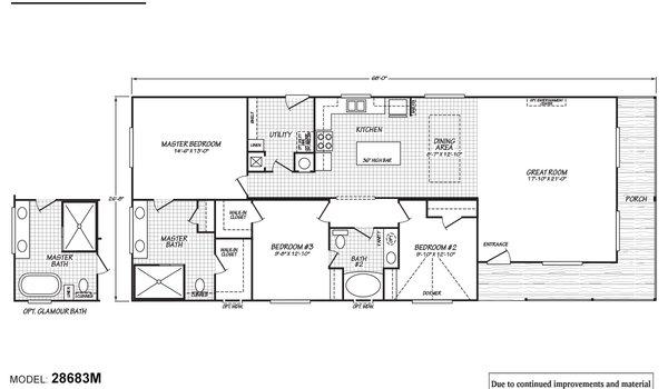 Timberwood 28683m By Fleetwood Homes Nampa Modularhomes Com
