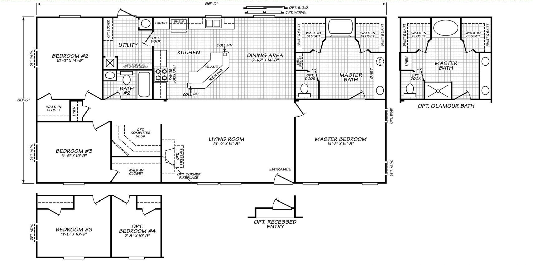 Sandpoint 32563l By Fleetwood Homes