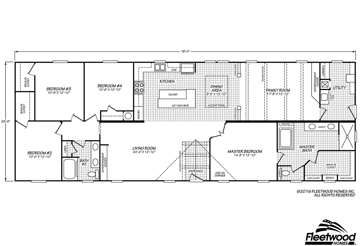 Canyon Lake 28764K Layout