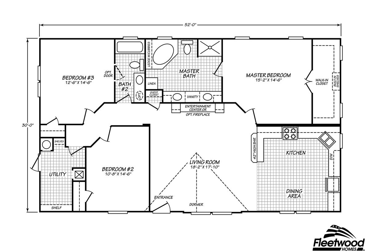 Fleetwood Homes Lafayette - ModularHomes com