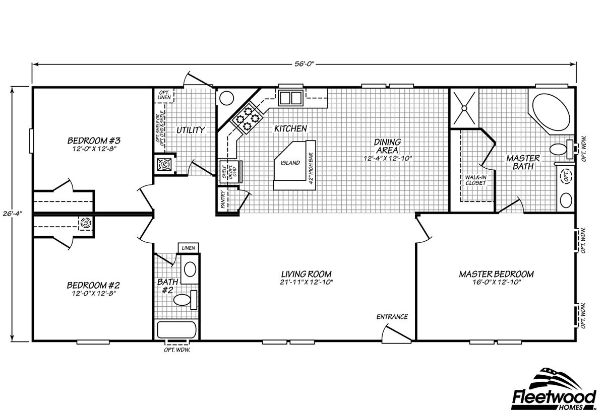 Fleetwood Homes Douglas - ModularHomes com