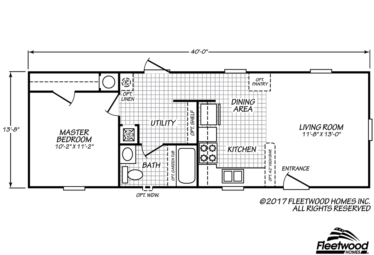 Westfield Classic Westfield Classic 14401B by Day Star Homes – Westfield Homes Floor Plans