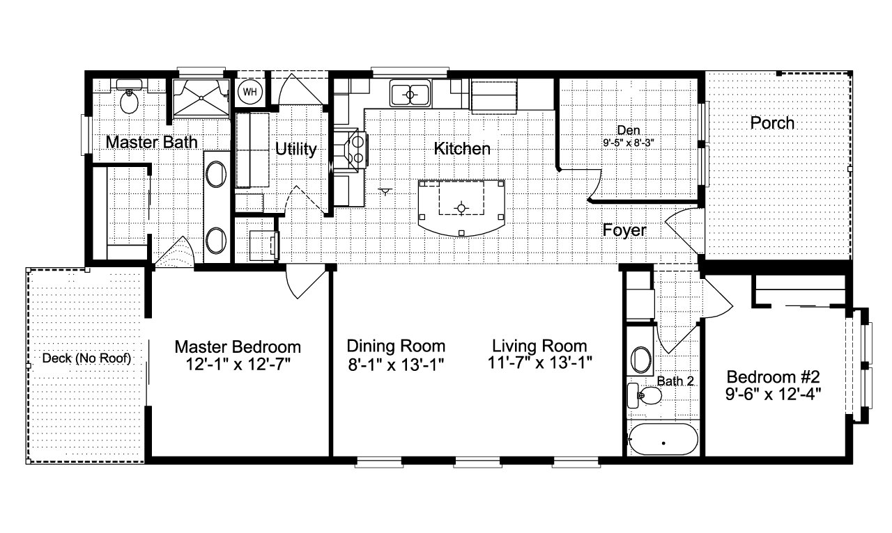 Palm harbor plant city summer breeze ls28562b by palm for Ready built homes floor plans