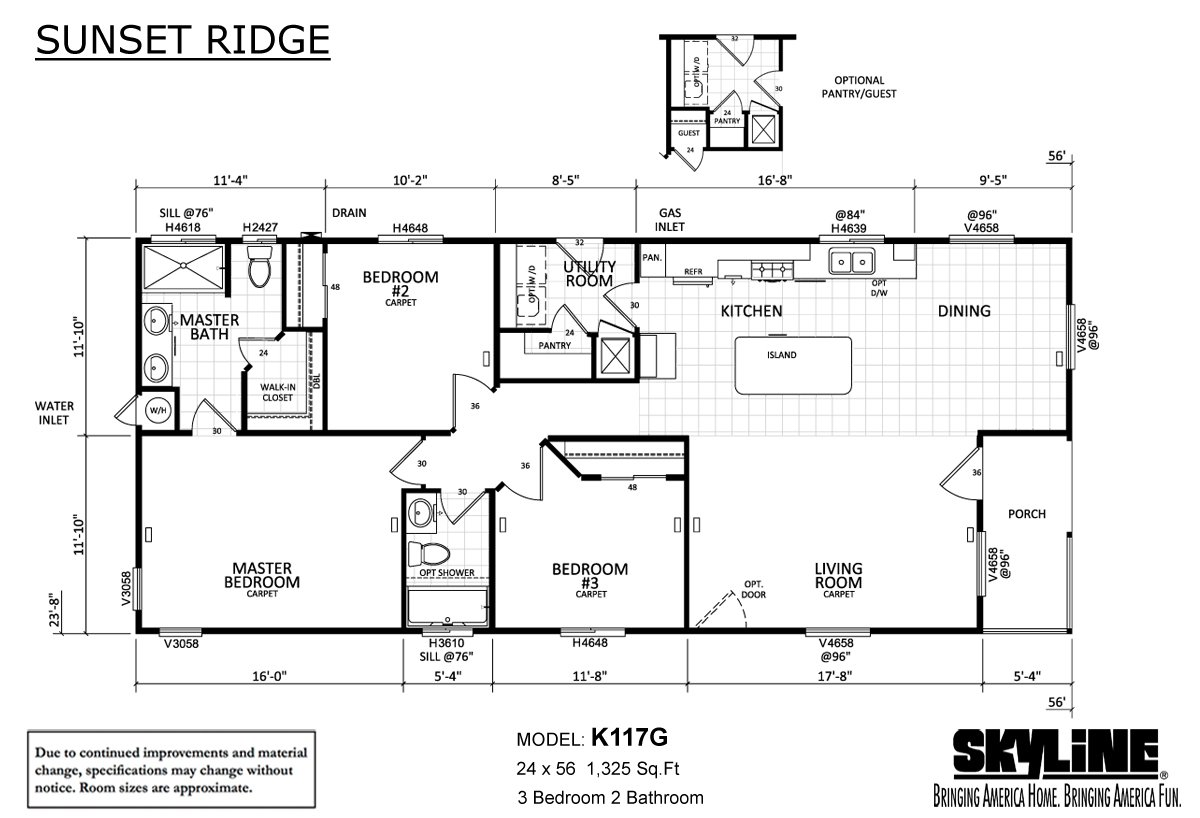 Sunset Ridge - K117G