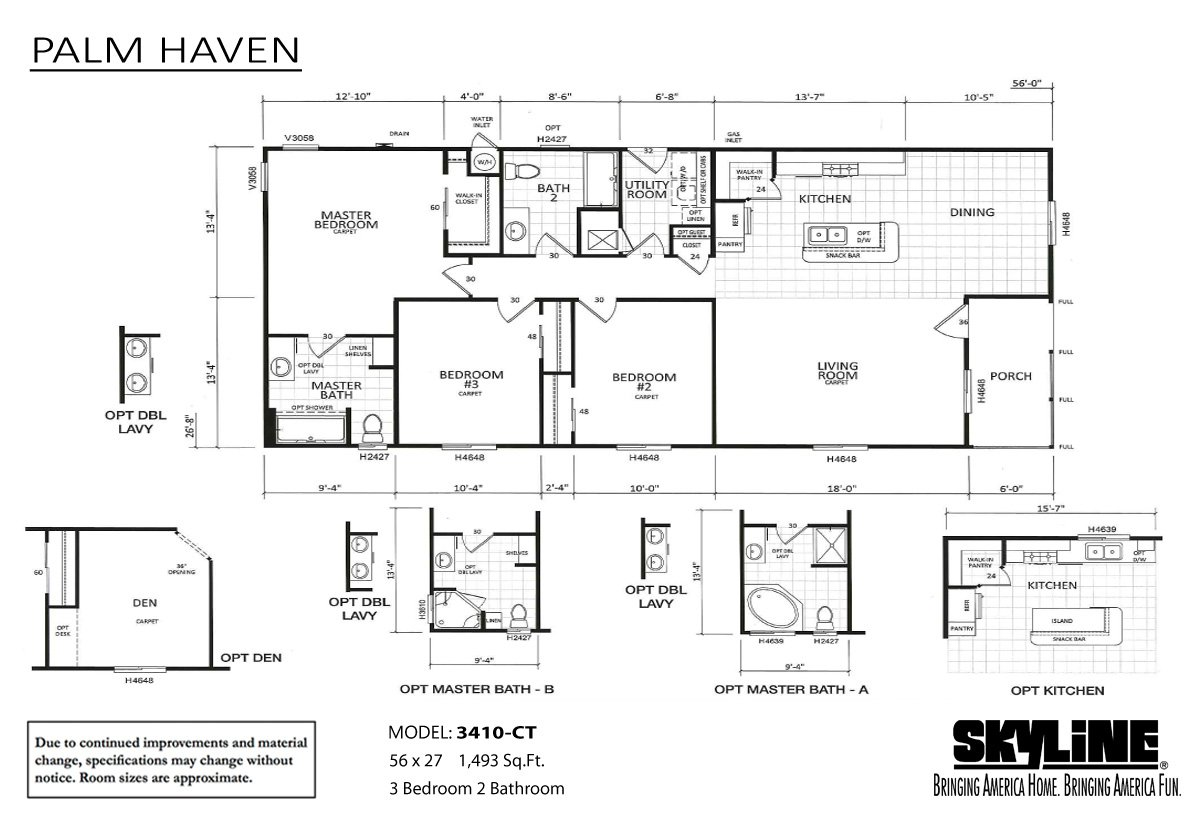 Palm Haven 3410-CT