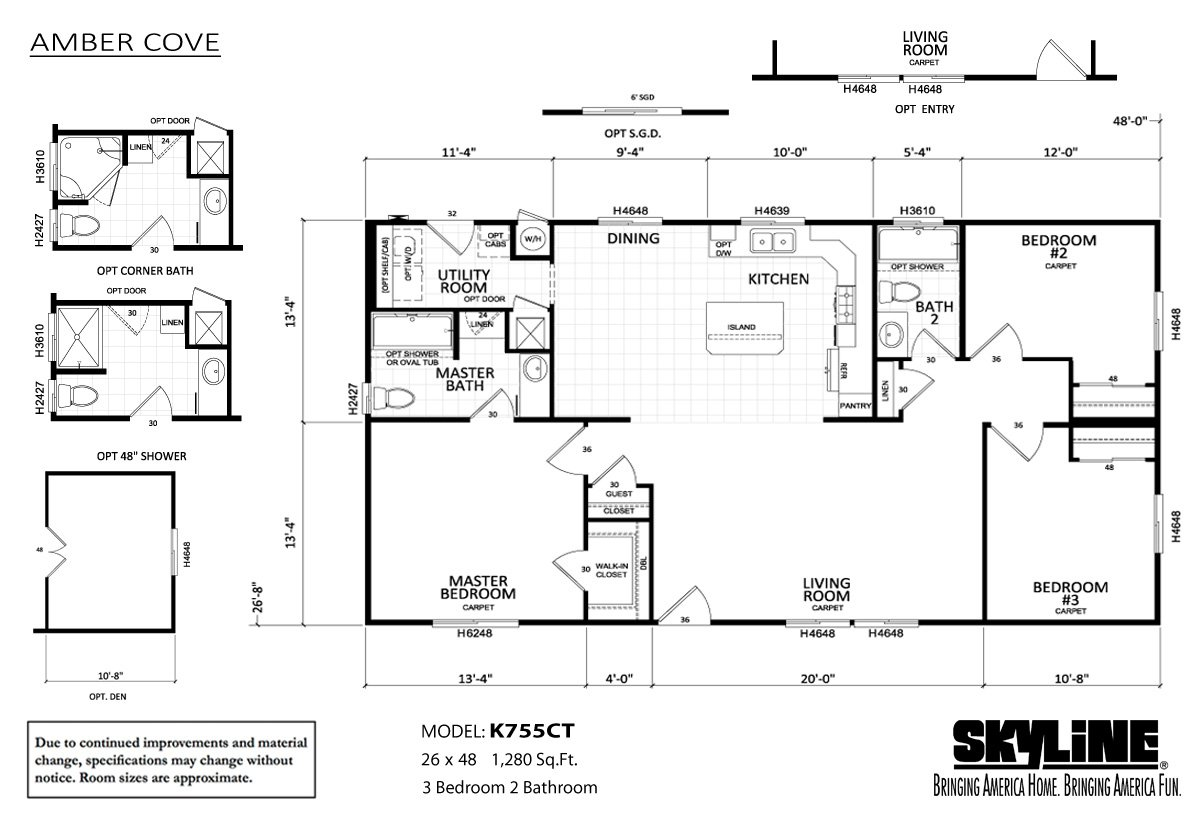 amber-cove-K755CT-layout-99 Skyline Amber Cove Manufactured Homes Floor Plans on skyline mobile home 1960, modular home plans, 1999 skyline manufactured home plans, skyline mobile home parts, 2006 skyline manufactured home plans, skyline lexington manufactured home, 1973 skyline manufactured home plans, skyline double wide homes, skyline single wide mobile homes, 2010 skyline mobile home plans,