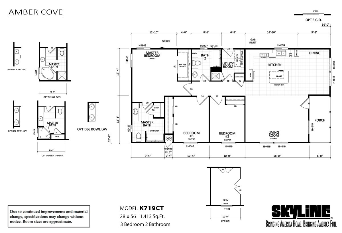 amber-cove-K719CT-layout-99 Skyline Mobile Homes Floor Plans California on double wide trailer floor plans, bonnavilla homes floor plans, 1999 skyline manufactured home plans, skyline triple wide floor plans, skyline texas city tx, skyline west ridge floor plan, house floor plans, skyline mobile homes 2014, buccaneer manufactured homes floor plans, skyline double wide homes, skyline park model floor plans, rv floor plans, 2006 skyline manufactured home plans, skyline ramada mobile homes, modular home plans, park model homes plans, modular ranch floor plans, fleetwood 3-bedroom floor plans, skyline manufactured homes 2005 2-bedrooms floor plans, 14x56 skyline floor plans,