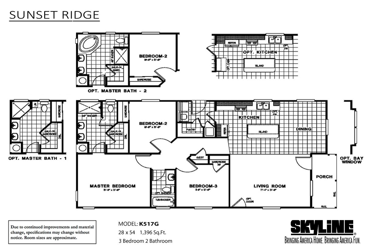 Tumbleweed homes in ridgecrest ca manufactured home dealer for Sunset house plans