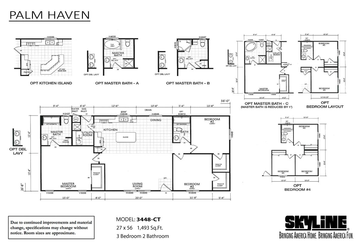 Palm Haven 3448 Ct By Skyline Homes