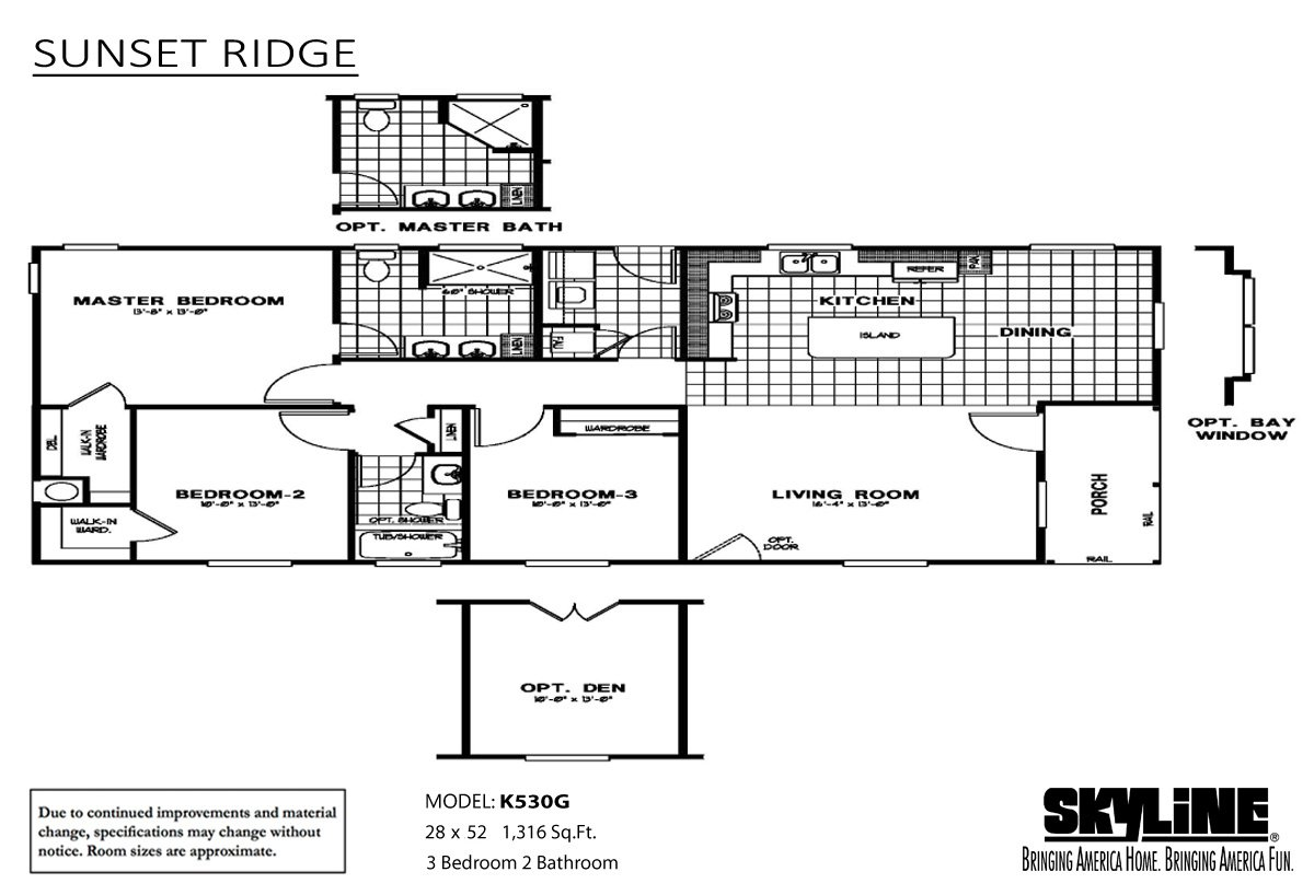 Sunset Ridge K530g By Skyline Homes