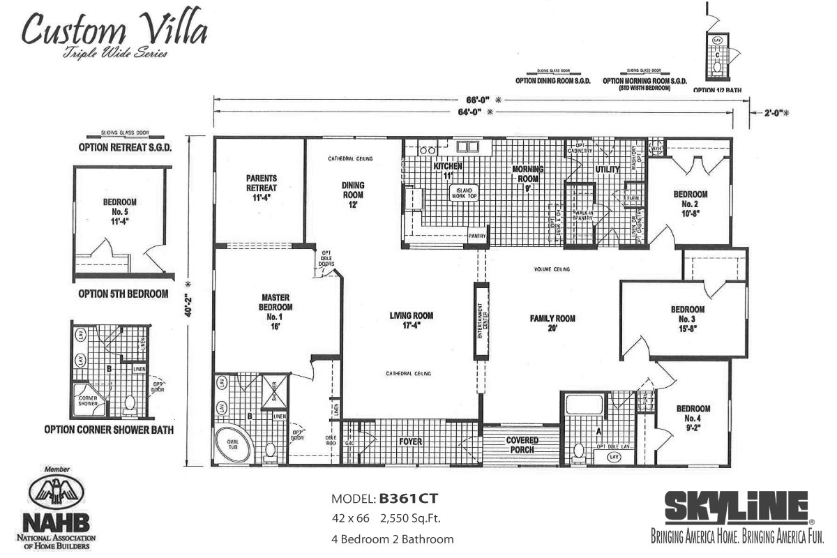 Pacific manufactured homes santee in santee ca for American west homes floor plans