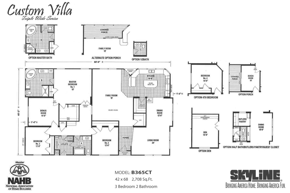 Ma williams manufactured homes inc in hemet ca for Custom home floor plans