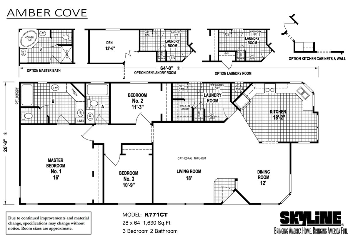 amber-cove-K771CT-layout Skyline Mobile Homes Floor Plans California on double wide trailer floor plans, bonnavilla homes floor plans, 1999 skyline manufactured home plans, skyline triple wide floor plans, skyline texas city tx, skyline west ridge floor plan, house floor plans, skyline mobile homes 2014, buccaneer manufactured homes floor plans, skyline double wide homes, skyline park model floor plans, rv floor plans, 2006 skyline manufactured home plans, skyline ramada mobile homes, modular home plans, park model homes plans, modular ranch floor plans, fleetwood 3-bedroom floor plans, skyline manufactured homes 2005 2-bedrooms floor plans, 14x56 skyline floor plans,