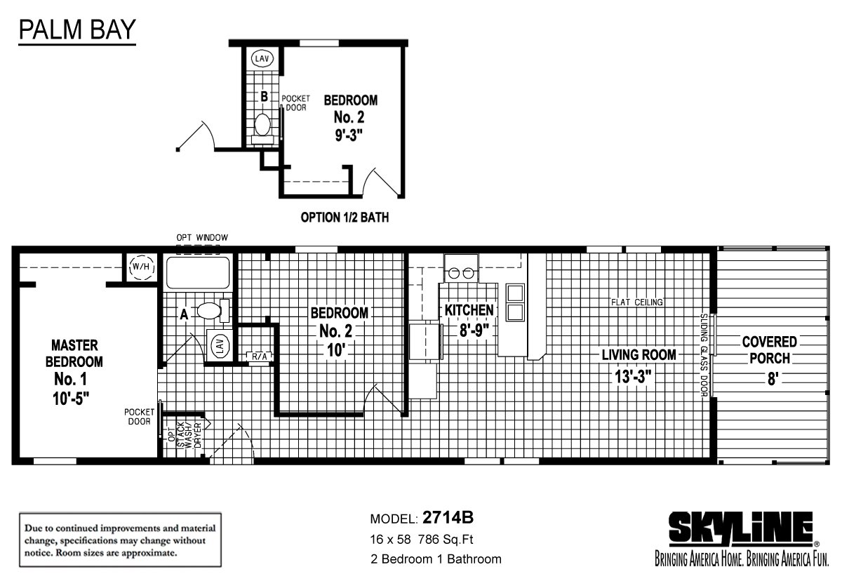 palm bay    2714b by skyline homes