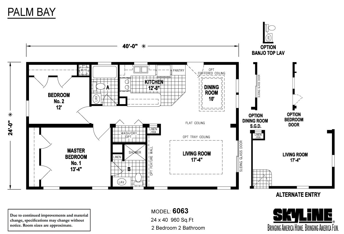 palm bay    6063 by skyline homes
