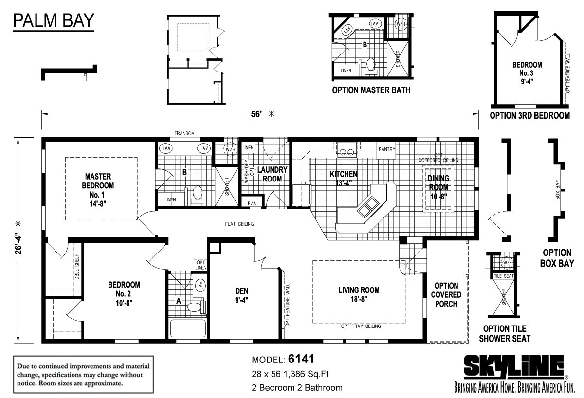 palm bay    6141 by skyline homes
