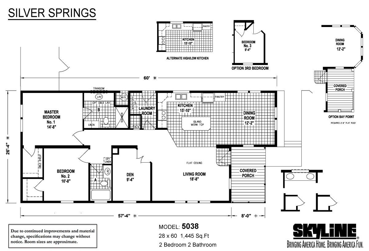 Silver Springs / 5038 by Skyline Homes on double wide mobile home plans, 2 bedroom apartment floor plan, 2 bedroom modular home plans, 2 bedroom steel buildings, 2 bedroom prefab homes, 2 bedroom double wide mobile homes, 14x60 mobile home floor plans, 2 bedroom housing, 2 bedroom manufactured log homes, 2 bedroom used mobile homes, earthship home floor plans, 2 bedroom mobile home designs, solitaire single wide floor plans, 1975 mobile home floor plans, 3 bdrm double wide home floor plans, four bedroom home floor plans, 3 bdrm 2 bath modular farmhouse floor plans, one-bedroom studio floor plans, 2 bedroom trailers, single wide homes floor plans,