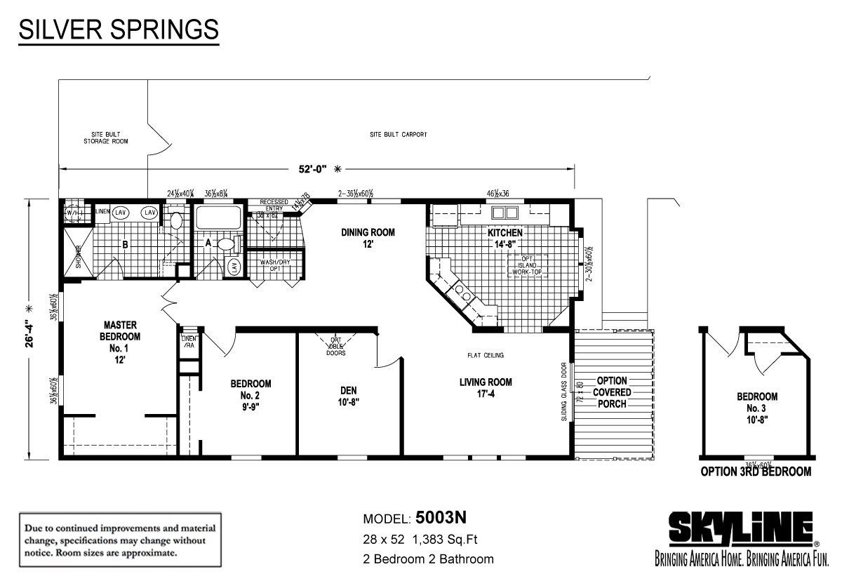 Silver Springs 5003n By Skyline Homes