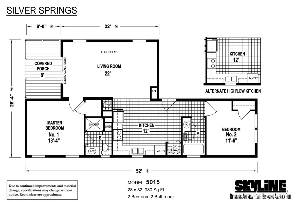Silver Springs 5015 By Factory Expo Home Center